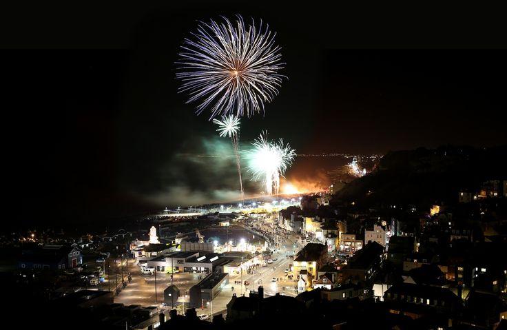 Hastings Bonfire Fireworks
