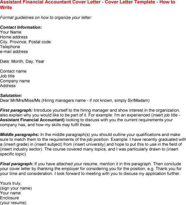 16 trainee accountant cover letter