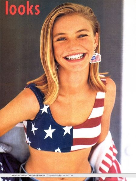 Cameron Diaz was an Elite Model at 16yrs old