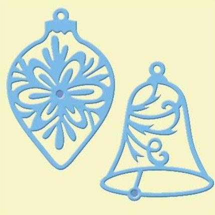 Marianne Designs - Creatables Die - Bauble & Bell