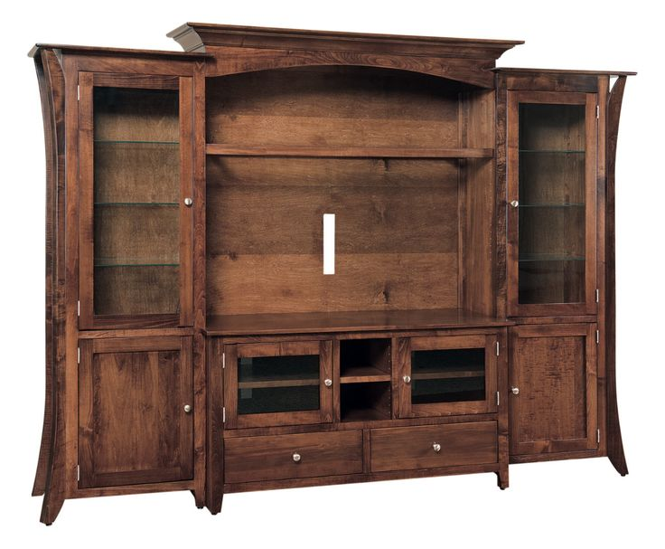 Caledonia 4pc flat screen tv unit 504 cd4pctv 108 for Stone barn furnishings