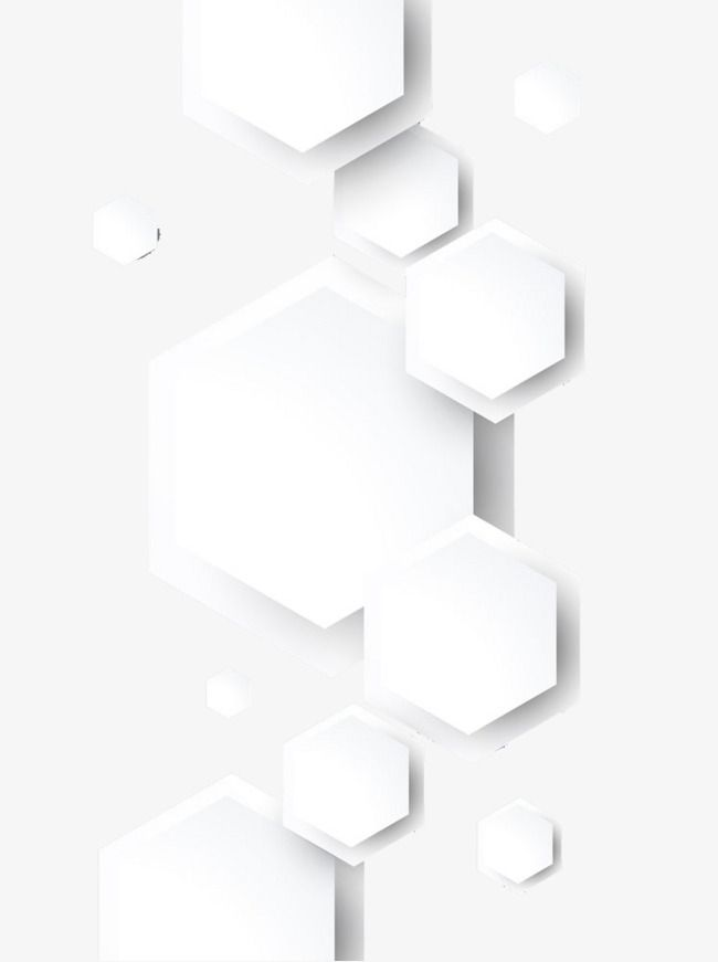 White Flat Pattern Hexagon Pattern Blue Texture Background Pattern