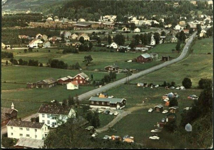 Oppland fylke Ringebu kommune Skjeggestad Camping, Ringebu. Utg Elstad Stemplet 1977