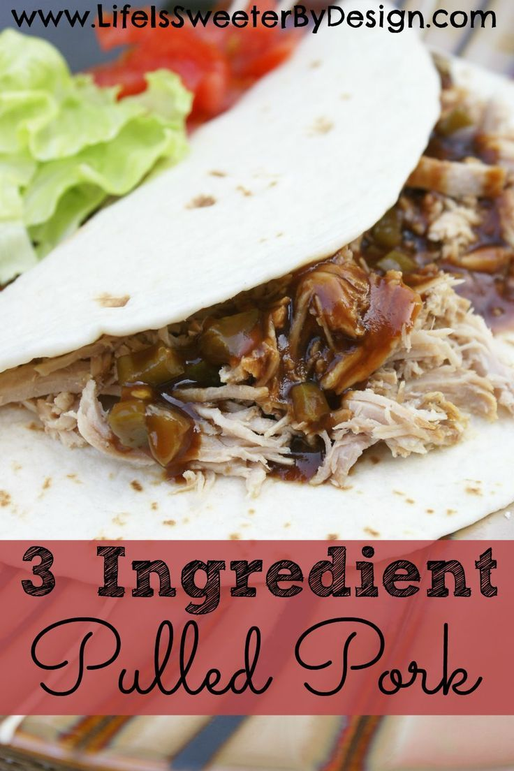 Slow Cooker or Crock Pot recipe that is so easy to make and so delicious to eat! Great for sandwiches, burritos or as a stand alone meat dish!