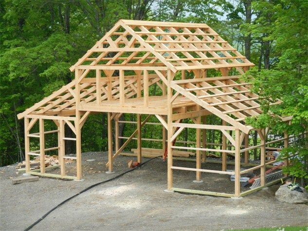 Timber framing solutions offering complete custom timber A frame barn plans