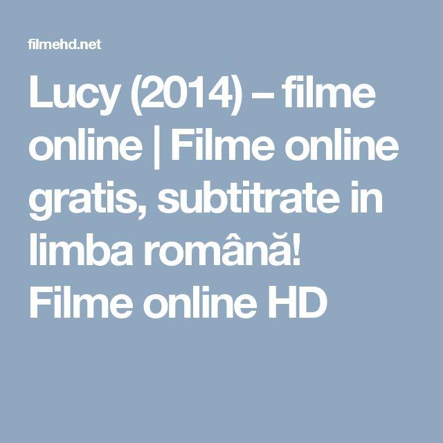 Lucy (2014) – filme online | Filme online gratis, subtitrate in limba română! Filme online HD