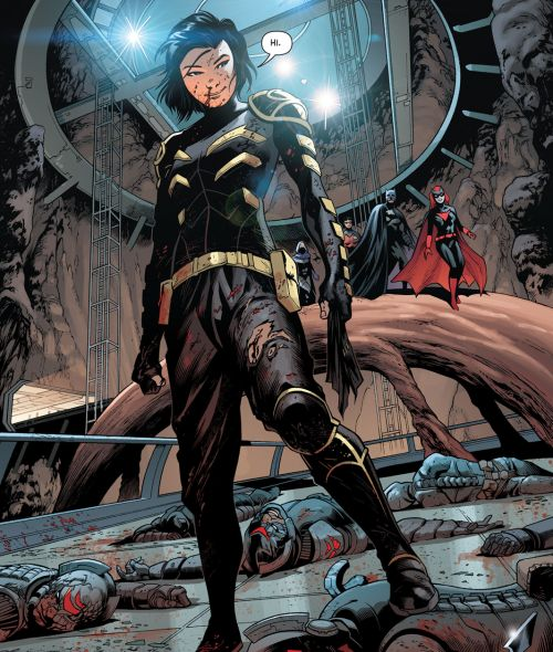 "Cassandra Cain in Detective Comics #938 - ""Enemy at the Gates"" (2016)"