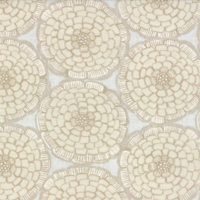 Modern Roses - English Miss in Flax (7182 14) // Juberry Fabrics