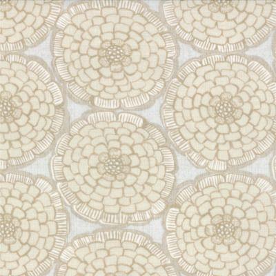 Modern Roses - English Miss in Flax (7182 14) // Juberry Fabrics