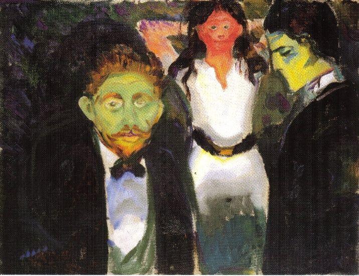 """Su nombre viene de una exposición que realizó Munch en la galería parisina """"La maison del Art Nouveau""""."""