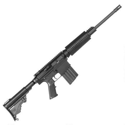 "DPMS Oracle Semi Auto Rifle .308 Win/7.62 NATO 16"" Barrel 20 Rounds Collapsible Stock Black Finish RFLR-OC - 60560 - 884451002468"