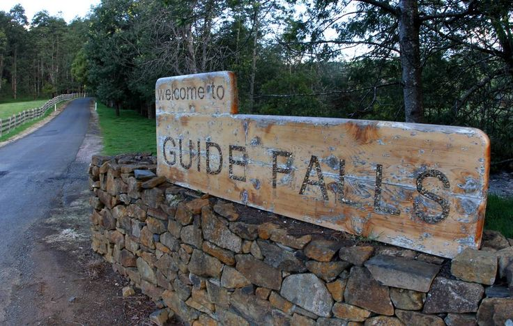 With easy access Guide Falls is well worth a visit, don't forget your camera!