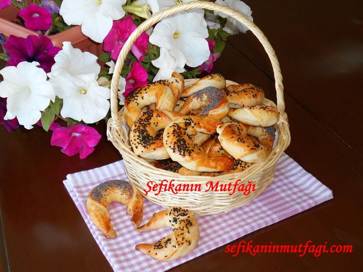 Peynirli Ay Çöreği #çörek #börek #börektarifleri #hamur #hamurişi #turkishrecipe #recipes http://sefikaninmutfagi.com/peynirli-ay-coregi/