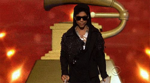 Prince showed up just to redefine the meaning of swagger <3 #grammys