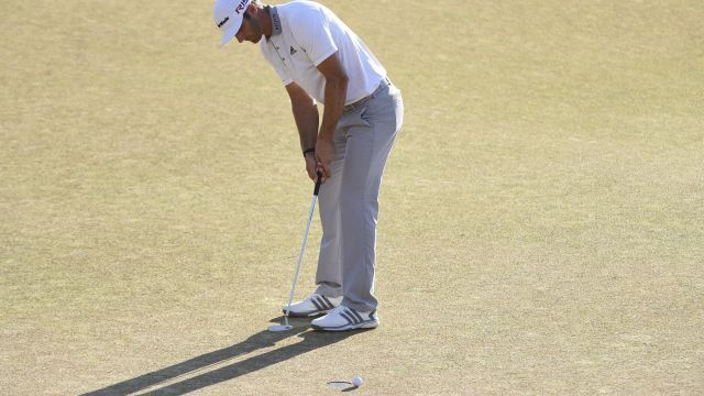 Dustin Johnson 3-Putts, Blows Walk-Off Eagle Chance To Lose US Open (Video) Dustin Johnson  #DustinJohnson