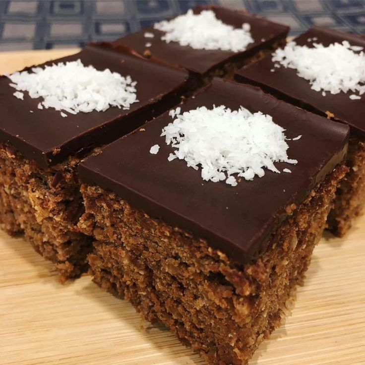 DELICIOUS chocolate and coconut slice!  Recipe here: https://www.healthymummy.com/recipe/healthy-chocolate-and-coconut-slice/?lbwref=83&utm_content=buffer8218c&utm_medium=social&utm_source=pinterest.com&utm_campaign=buffer