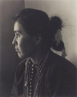 """Navaho Portrait (Ethel Kellywood),"" 1934 Laura Gilpin"