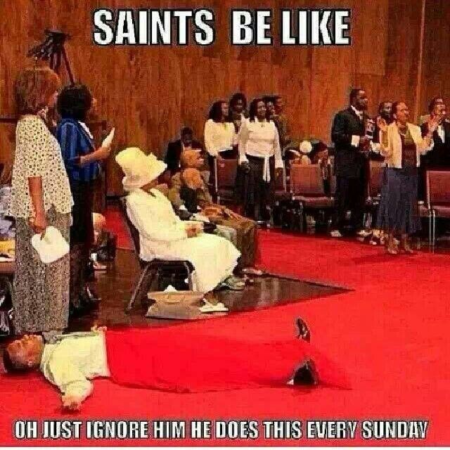 Just a little funny for the Lord!!! If you were brought up in a southern black church you know!