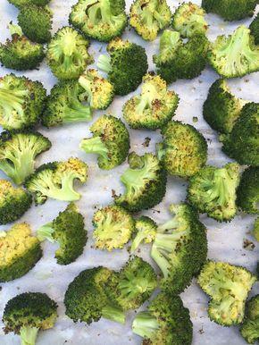 Roasting is the best way of cooking broccoli ever!  This delicious broccoli is tossed in olive oil and oven roasted to perfection - so healthy and tasty!  Even broccoli haters will gobble it up! Roasted broccoli is my favorite way of cooking broccoli - roasted broccoli really doesn't taste like a typical 'health food'.  The roasting process brings out a deep delicious flavor out of any vegetable, but this phenomenon is especially pronounced with broccoli.  After it comes out of th...