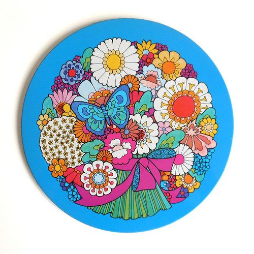 "Ivan Ripley ""Daisy"" placemat"