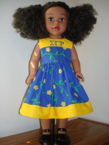 Sigma Gamma Rho doll