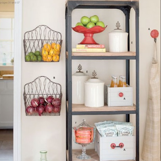 Hanging Fruit Basket Unac