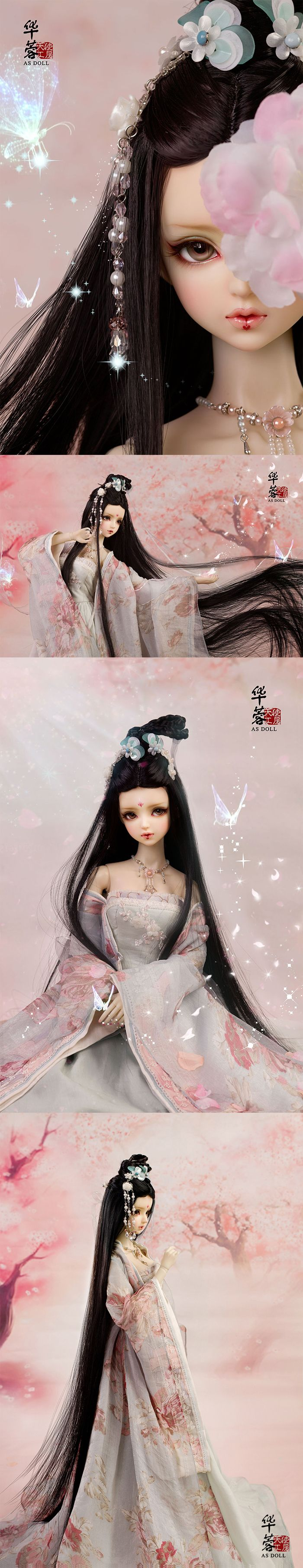 (AS Agency)BJD Limited Edition Hua Rong/Black Girl 62cm Ball-Jointed Doll_SD size doll_Angell Studio_DOLL_Ball Jointed Dolls (BJD) company-Legenddoll