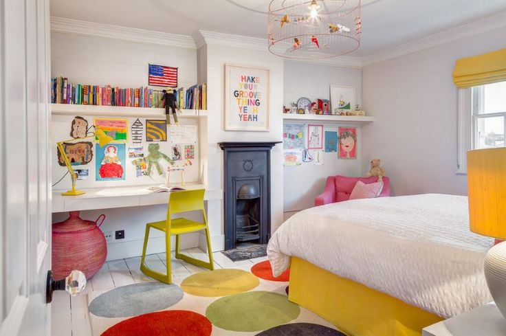 Colorful children's bedroom