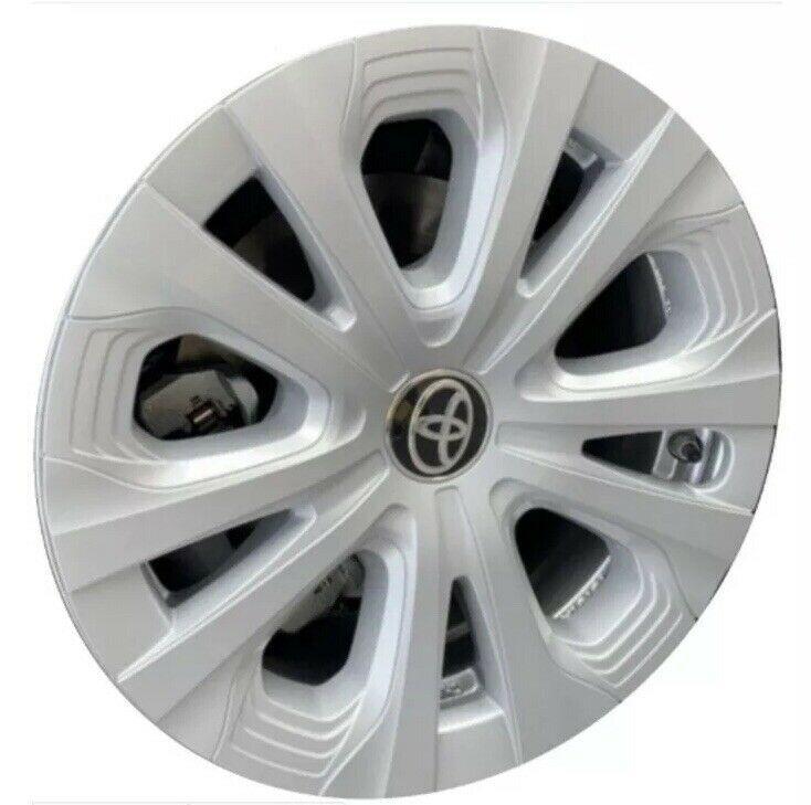 Ad Ebay Oem 2019 Toyota Prius 15 Silver Hubcap Wheel Cover 42602