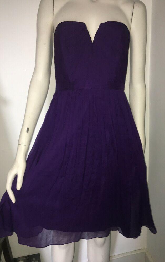 Ad Ebay J Crew Stunning Silk Prom Event Wedding Guest Dress Vintage Insp 6 Uk 10 Or 8 Guest Dresses Silk Prom Dress