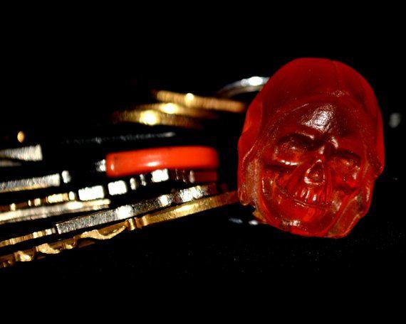Masters of the Universe Keychian He-Man Keyring MOTU Skeletor | Etsy