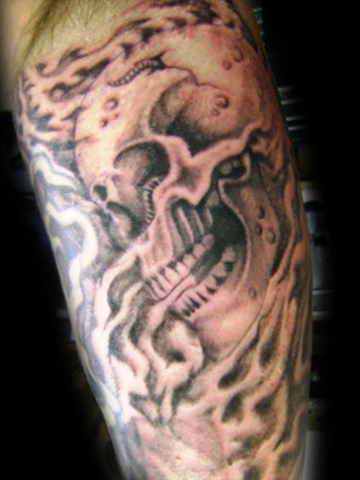 Smoke Skull Tattoos Best 25+ Smoke tattoo ...