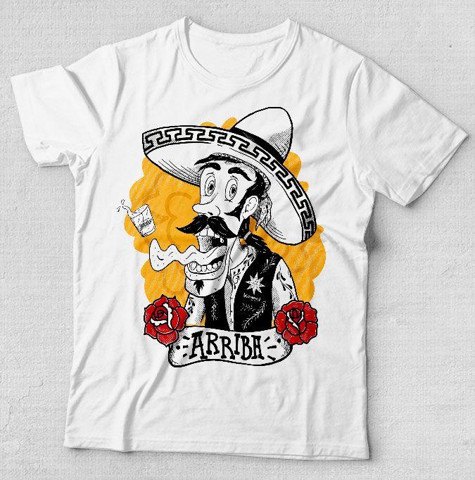 Camiseta 10 anos Guacamole. Você pode levar para sua casa um pedacinho do méxico e do Guacamole. Mexico. Camiseta. Aniversário. Tequileiro. Ariiba. Sombreiro. Guacamole