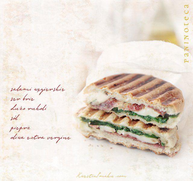 Panini - kanapka z ciabattą