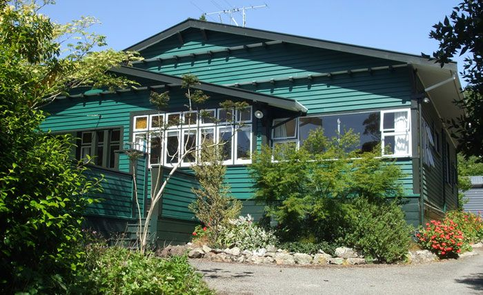 Resene Burnhamon house exterior