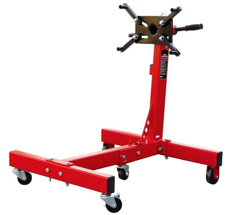 Motorszerelő állvány forgatós, összecsukható, 680kg,  Big Red