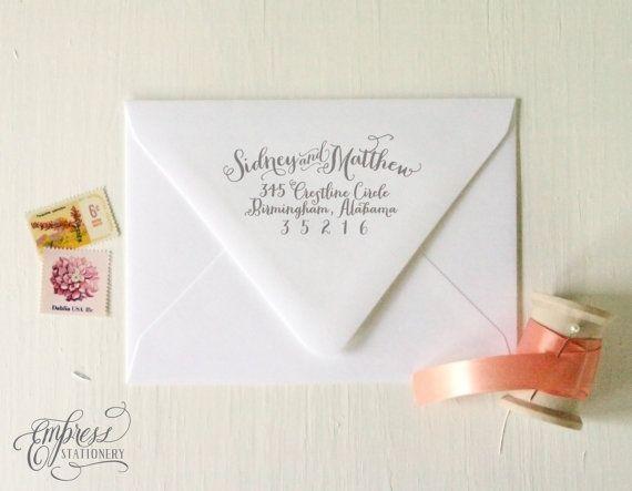 25+ best ideas about return address labels on pinterest   return, Wedding invitations