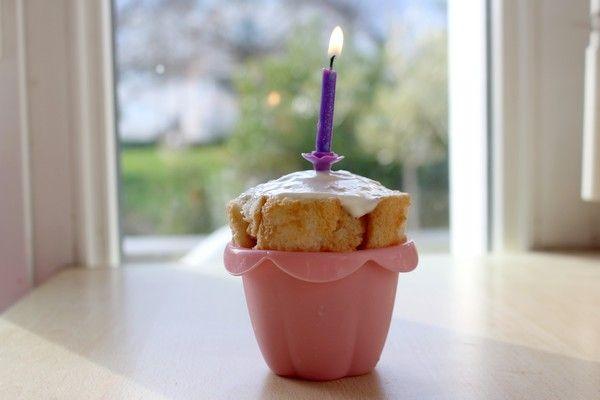 Recette pour un gâteau d'anniversaire pour bébé : la mini-charlotte