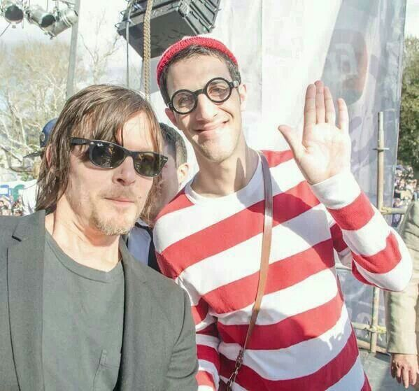 Norman found Waldo #mardigras2014