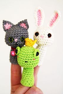 Fingerpuppet animals - $4.90