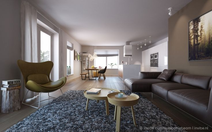 Visualisaties appartementencomplex MiPatio Leeuwarden
