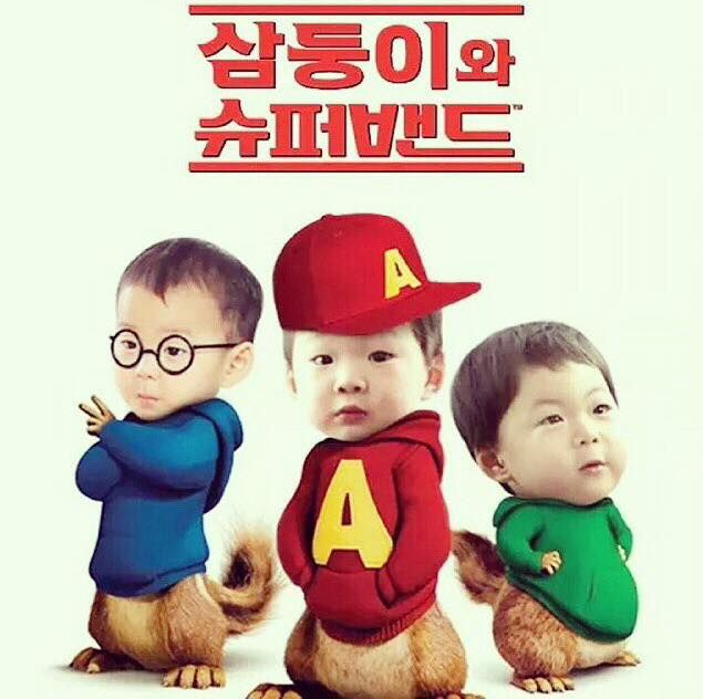 haha but I think Manse would be Alvin, Daehan-Simon, and Mingukie is Theodore. hahaha