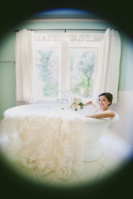 Bride in a Bathtub