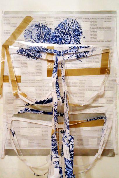 Ballloonhandwritting blue v1 installazione, particolare 2014