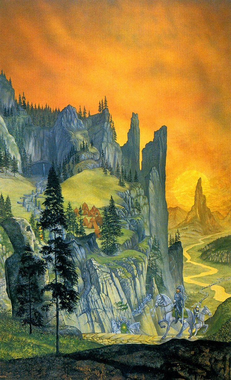 Lotr Falls Of Rauros Wallpaper Middle Earth The War Of The Ring Linda And Roger