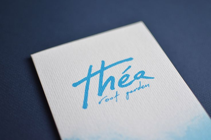 Thea Roof Garden Corporate Identity