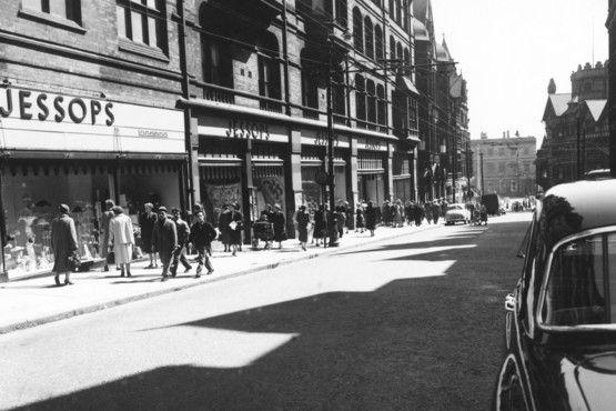 Jessops, King Street, Nottingham, 1957