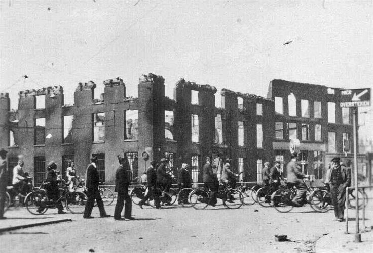 1940 Oostplein: Marinierskazerne