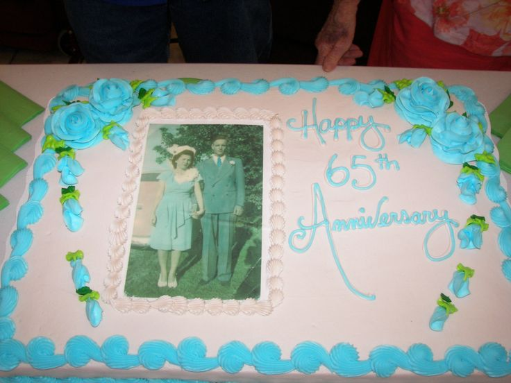 23 best 65th anniversary mom n dad images on pinterest for Decoration 65th anniversary