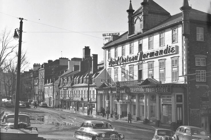 La rue Sainte-Anne en 1949